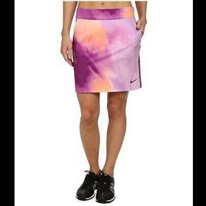 Nike Dri-Fit Printed Woven Golf Skirt